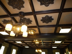 第3応接室の天井