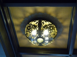 第3応接室天井照明