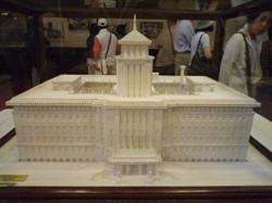 県庁舎模型